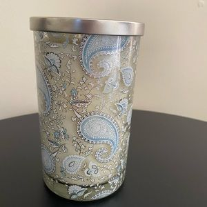 PUNCH STUDIO DECORATIVE GLASS JAR SCENTED CANDLE
